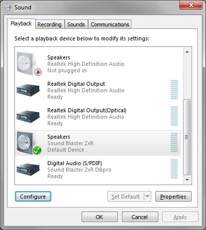 Dolby Digital Live   MediaPortal