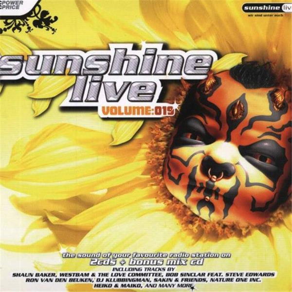 Various Artists-Sunshine Live, Volume 19L.jpg